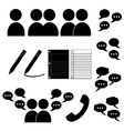 Communication PAck vector image