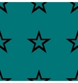 star web icon flat design Seamless gray pattern vector image
