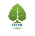 eco ace vector image