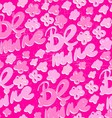 Seamless Valentines day Pattern vector image
