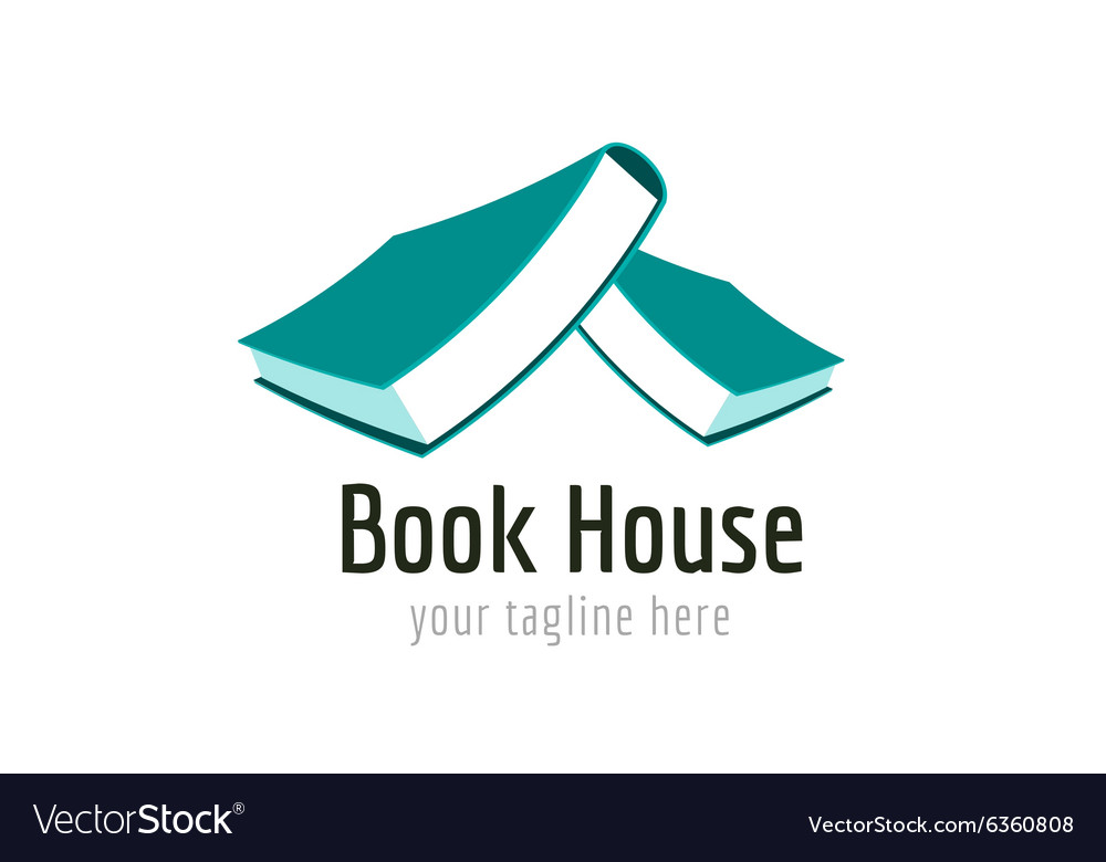 Books logo icon vector