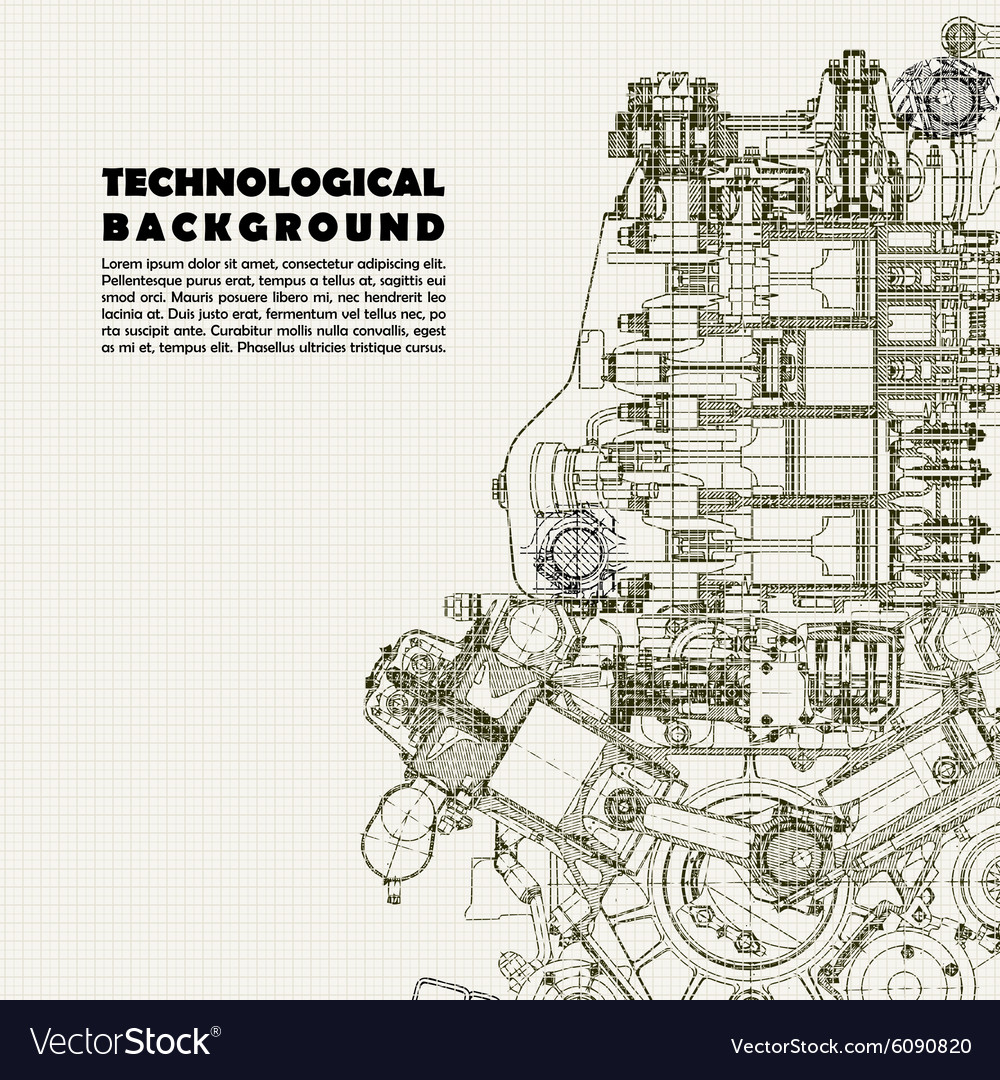 Background drawing engine vector