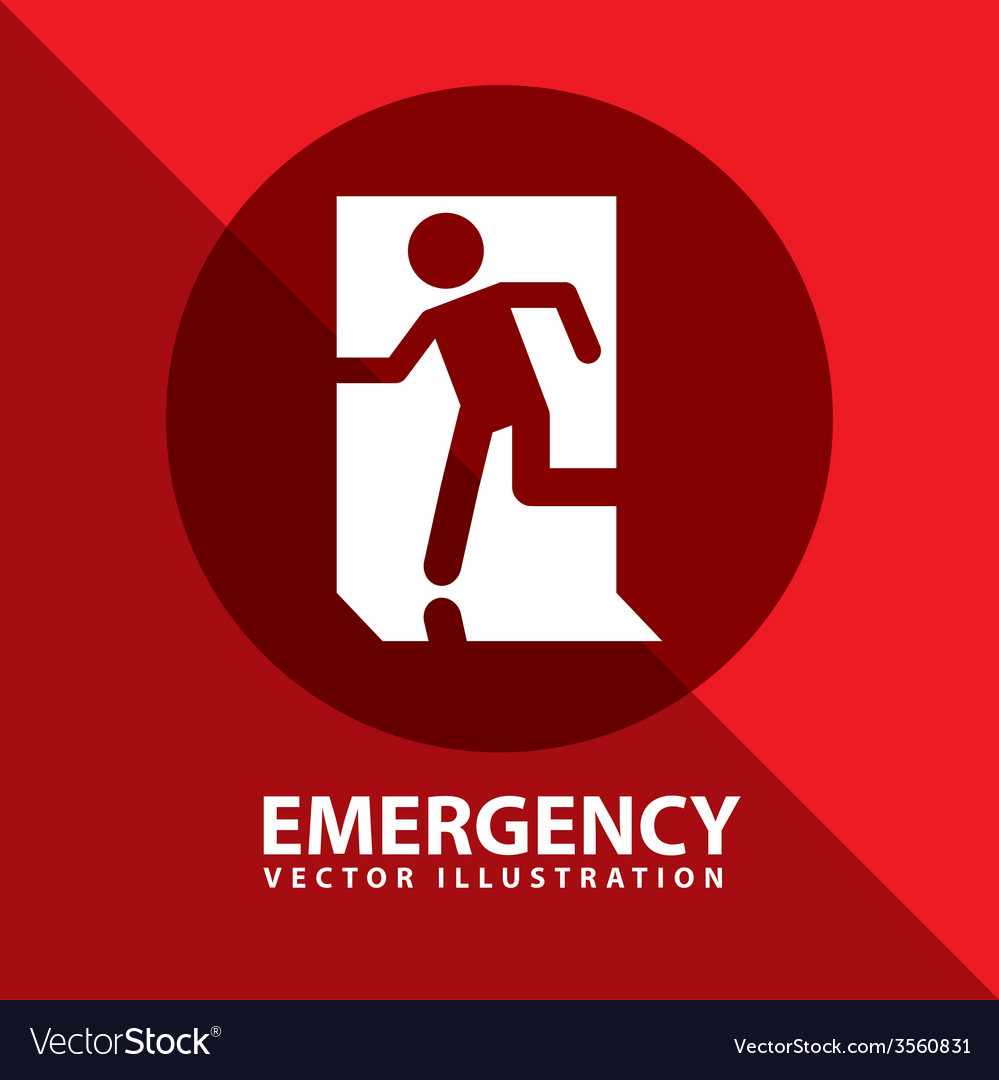 Emergency signal vector
