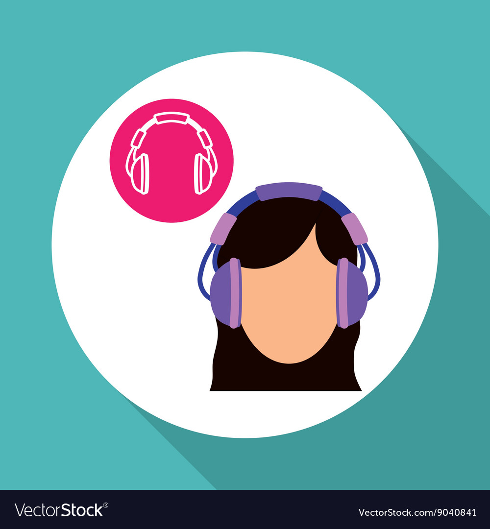 Music design online concept media vector