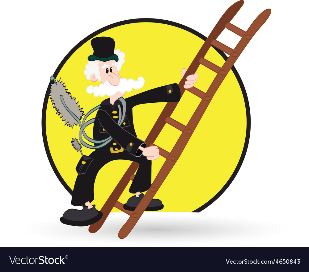 Chimney sweep resize vector