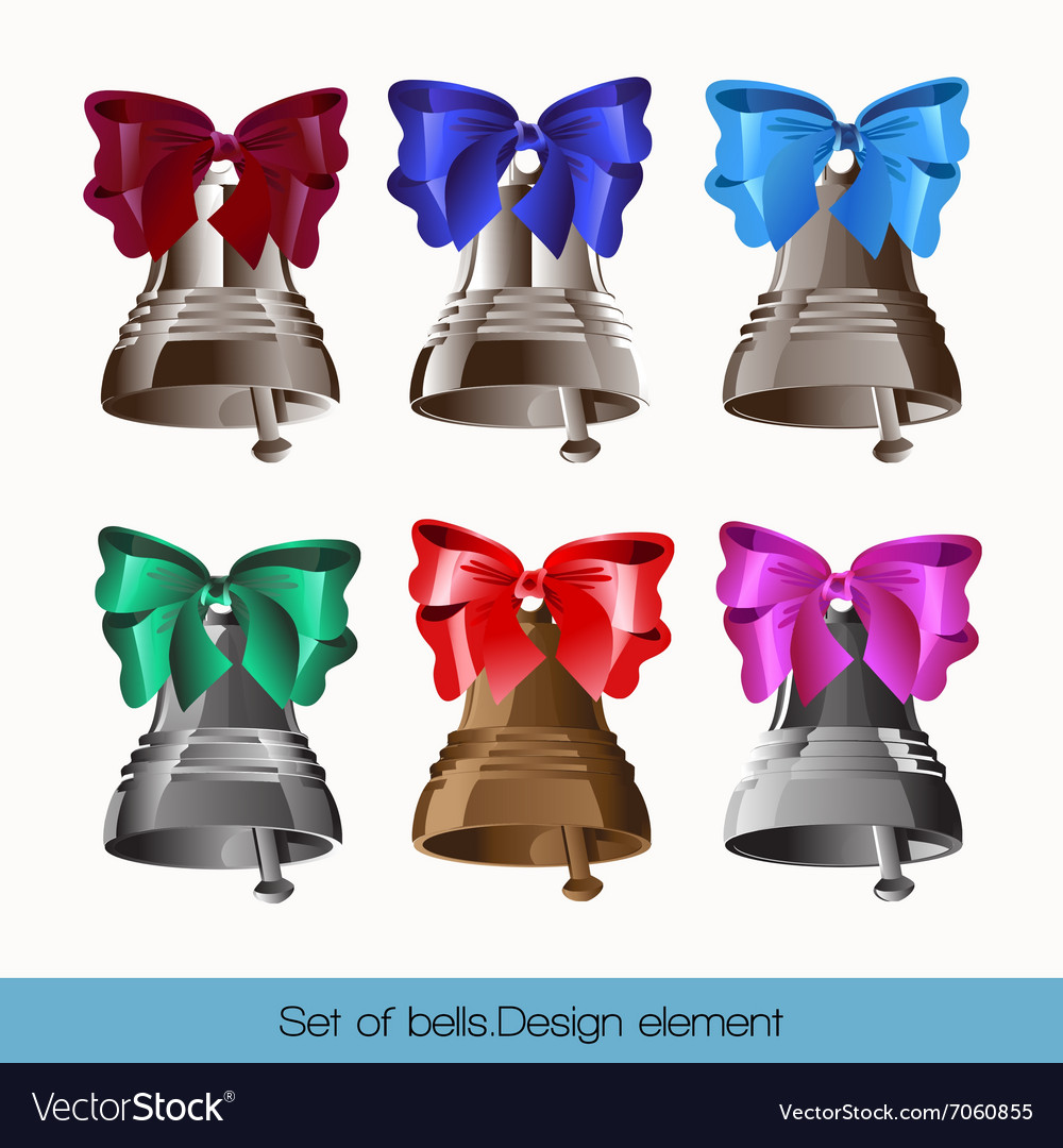 Set of bells vector