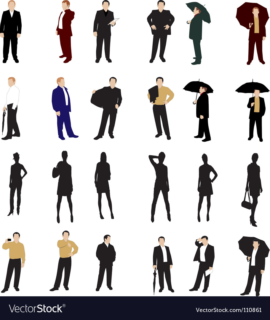 Business people vector