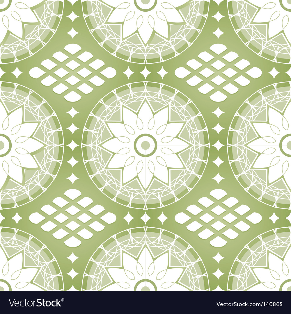 Russian lace pattern vector