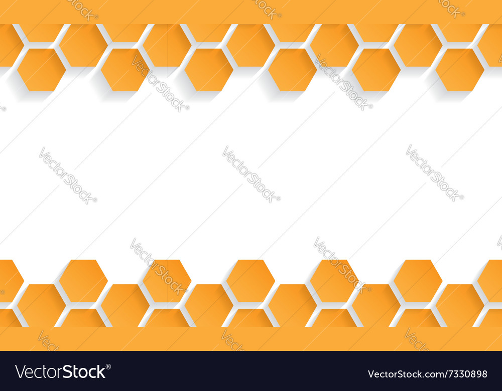 Abstract seamless texture with honeycombs vector