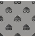 Thief Icon Seamless Pattern vector image