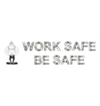 Health and Safety Banner vector image