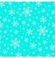 Snowfall holiday pattern vector image