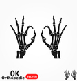 OK Orthopedic vector image