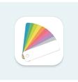 Design Color Guide Fan Flat Mobile OS vector image