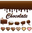 Assortment Chocolates vector image vector image