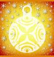 festive christmas template vector image