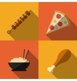 Food and Menu design vector image
