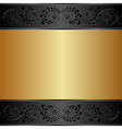 gold and background vector image