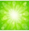 Abstract sunburst light background vector image