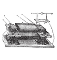 Ladds Machine vintage engraved vector image vector image