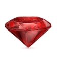 Ruby red icon vector image vector image