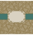 template frame design vector image vector image