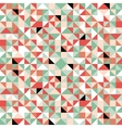 Retro origami colorful seamless pattern vector image