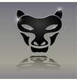 Tattoos in the form of a wolfs head vector image