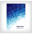 dynamics abstract brochure background vector image