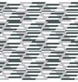Geometric fashion print vector image