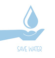 water label vector image vector image
