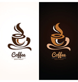 Coffee cup3 vector image