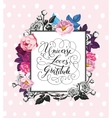 Vintage Baroque Frame with Blooming Roses vector image