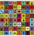 mosaic elements vector image
