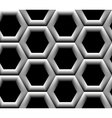Seamless pattern with hexagonal cells vector image
