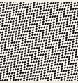 halftone edgy lines mosaic endless stylish texture vector image vector image