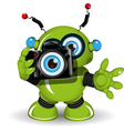 Robot with Camera vector image