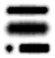dots pattern background elements set vector image