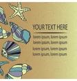 Vintage Holiday greeting card vector image