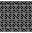 seamless celtic pattern vector image