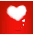Cloud From Hearts vector image