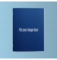 Realistic blank Template of Magazine or Notebook vector image