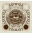 Beer design for label and packaging vector image