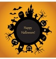Happy Halloween fun vector image