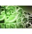 Technology green design vector image vector image