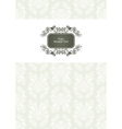 vector ornate frame vector image vector image