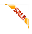 sale page vector image