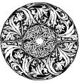 Renaissance seamless pattern vector image vector image