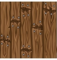 Wood texture old brown boards seamless background vector image