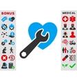Heart Surgery Icon vector image